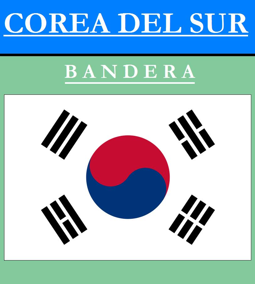 Escudo de BANDERA DE COREA DEL SUR