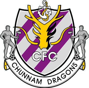 Escudo de CHUNNAM GRAGONS (COREA DEL SUR)