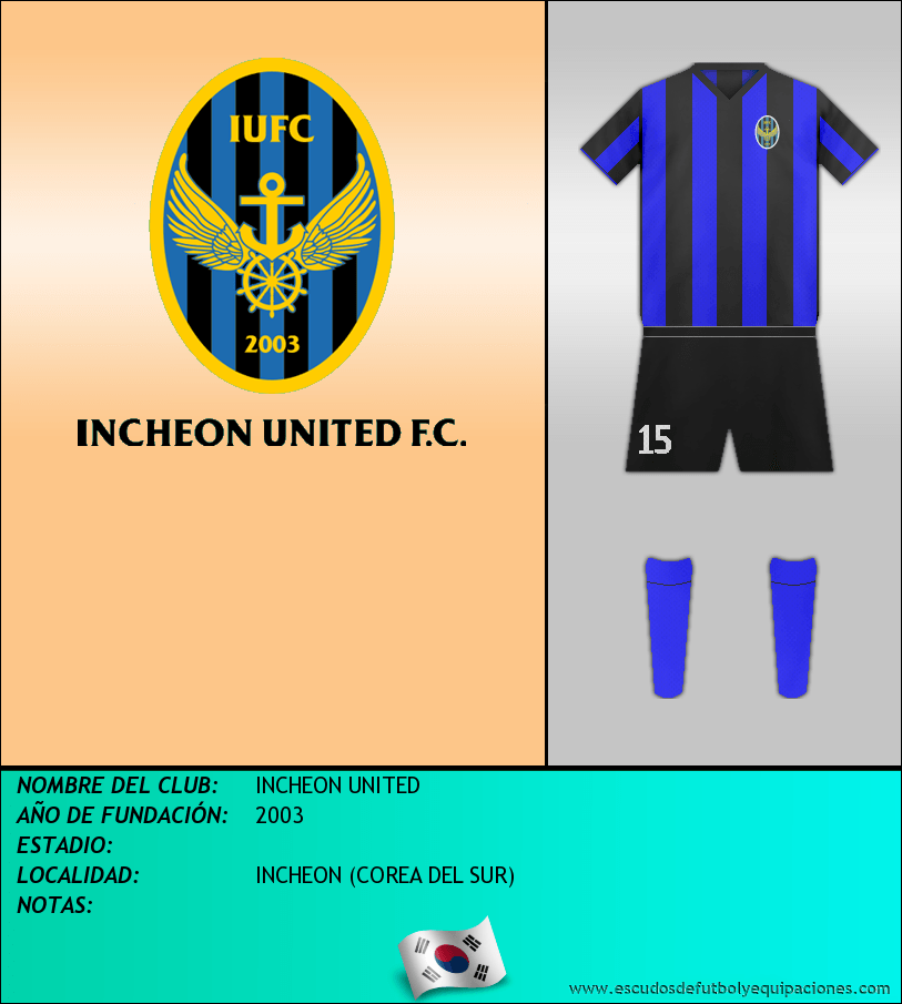 Escudo de INCHEON UNITED