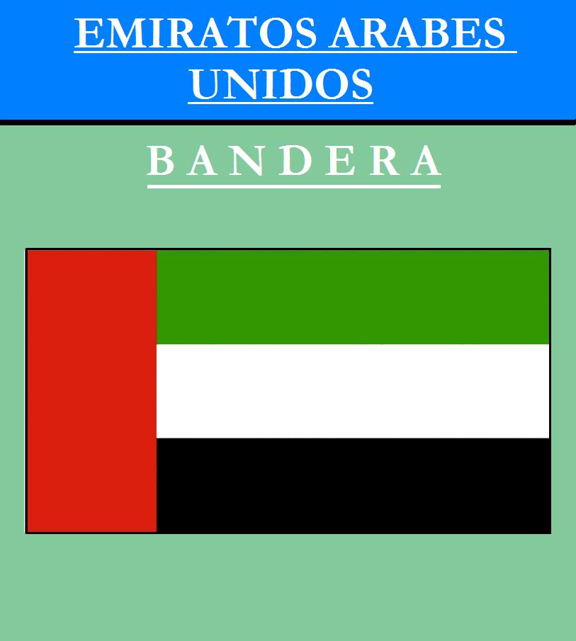 Escudo de BANDERA DE EMIRATOS ÁRABES UNIDOS