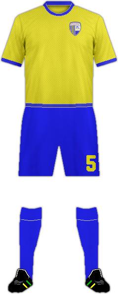 Equipación AL DHAFRA F.C.