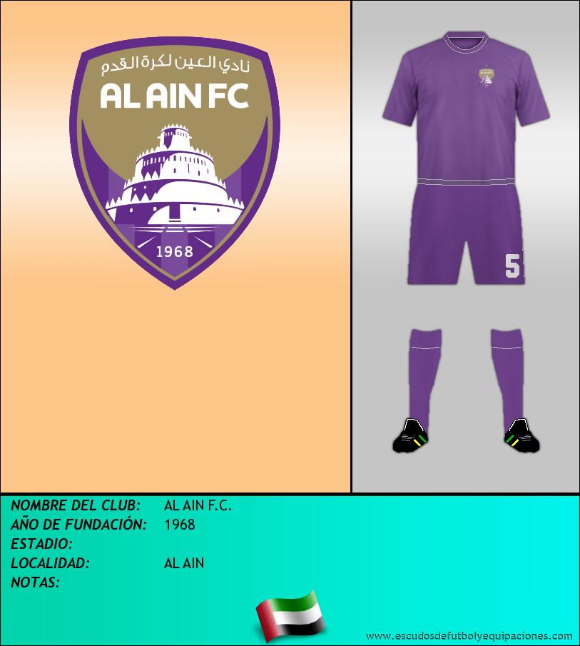 Escudo de AL AIN F.C.