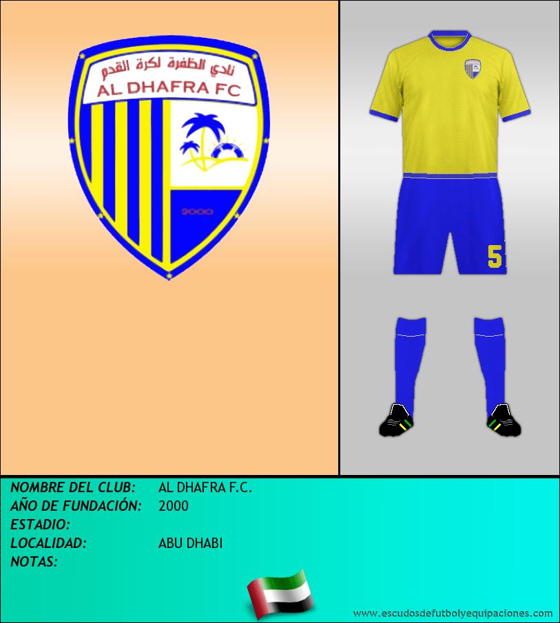 Escudo de AL DHAFRA F.C.
