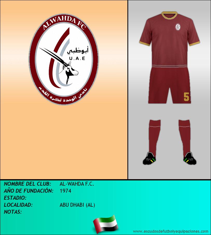 Escudo de AL-WAHDA F.C.