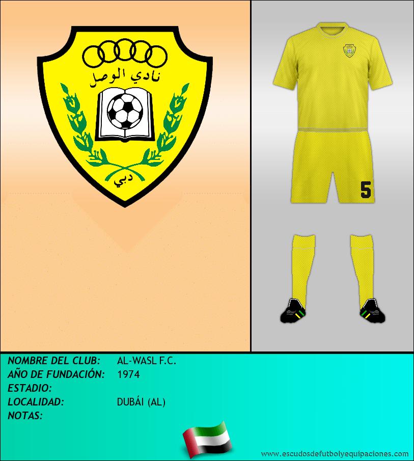 Escudo de AL-WASL F.C.