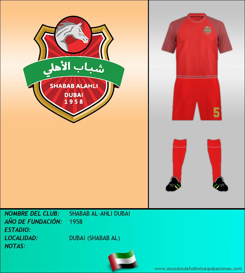 Escudo de SHABAB AL-AHLI DUBAI