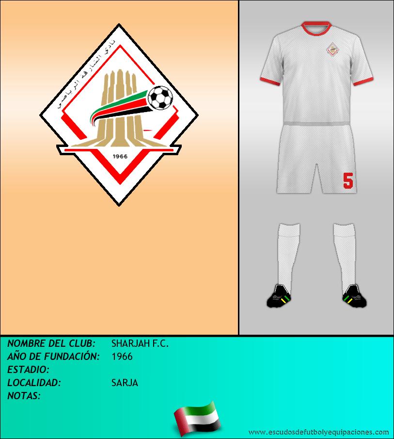 Escudo de SHARJAH F.C.