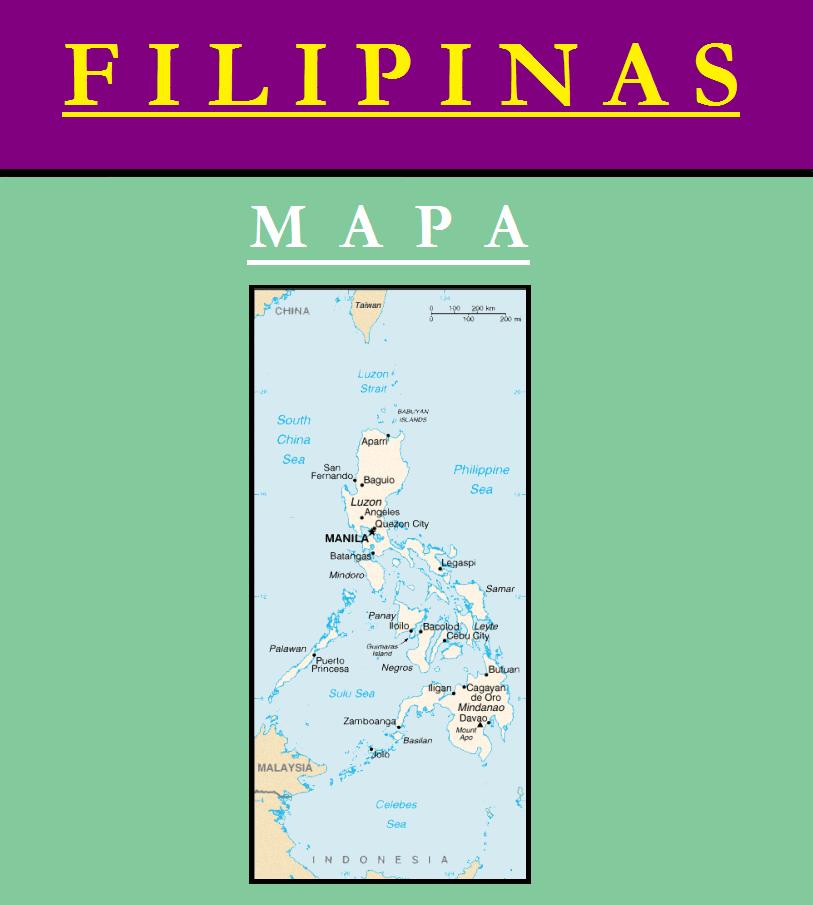 Escudo de MAPA DE FILIPINAS