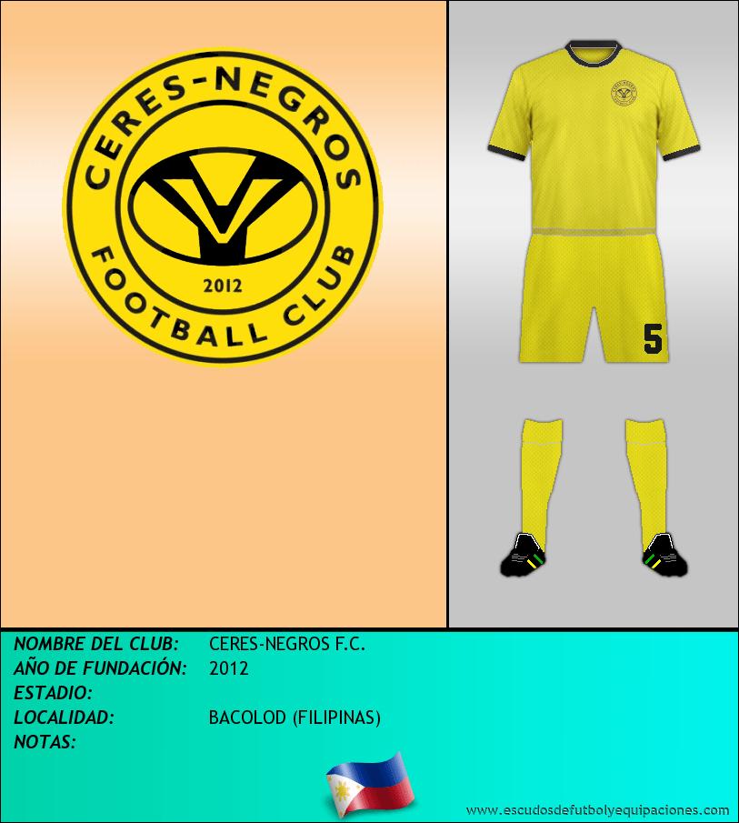 Escudo de CERES-NEGROS F.C.