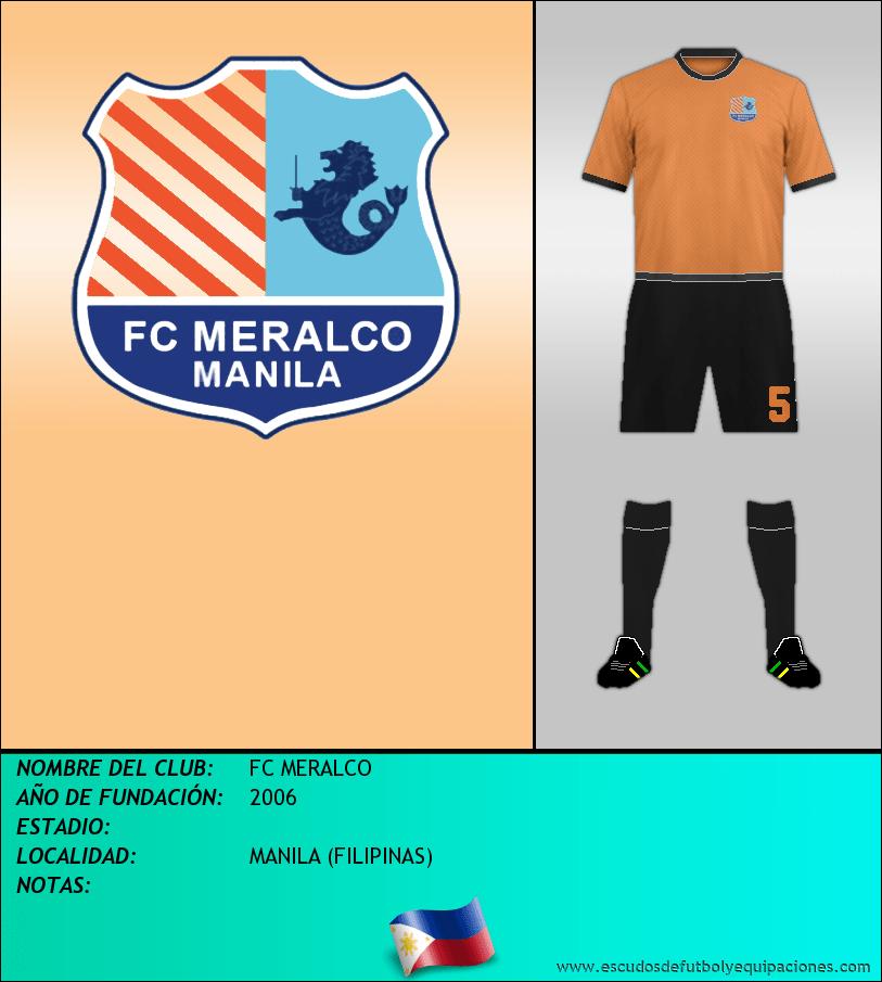 Escudo de FC MERALCO