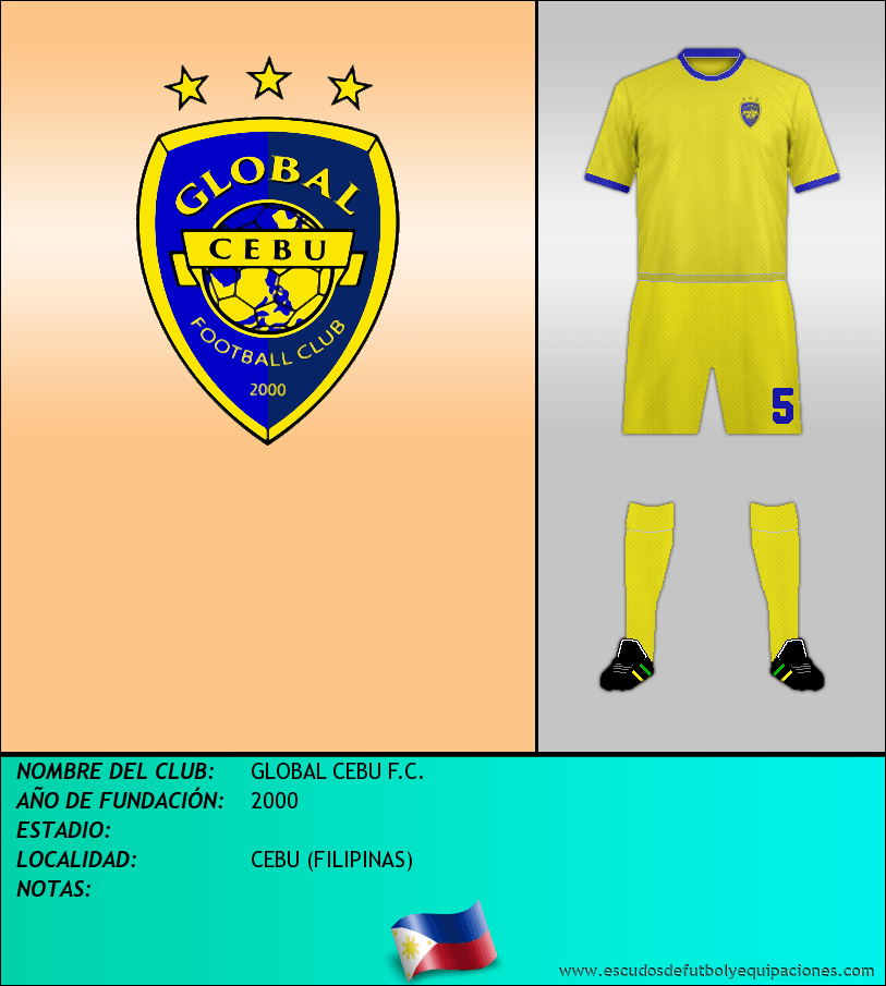 Escudo de GLOBAL CEBU F.C.