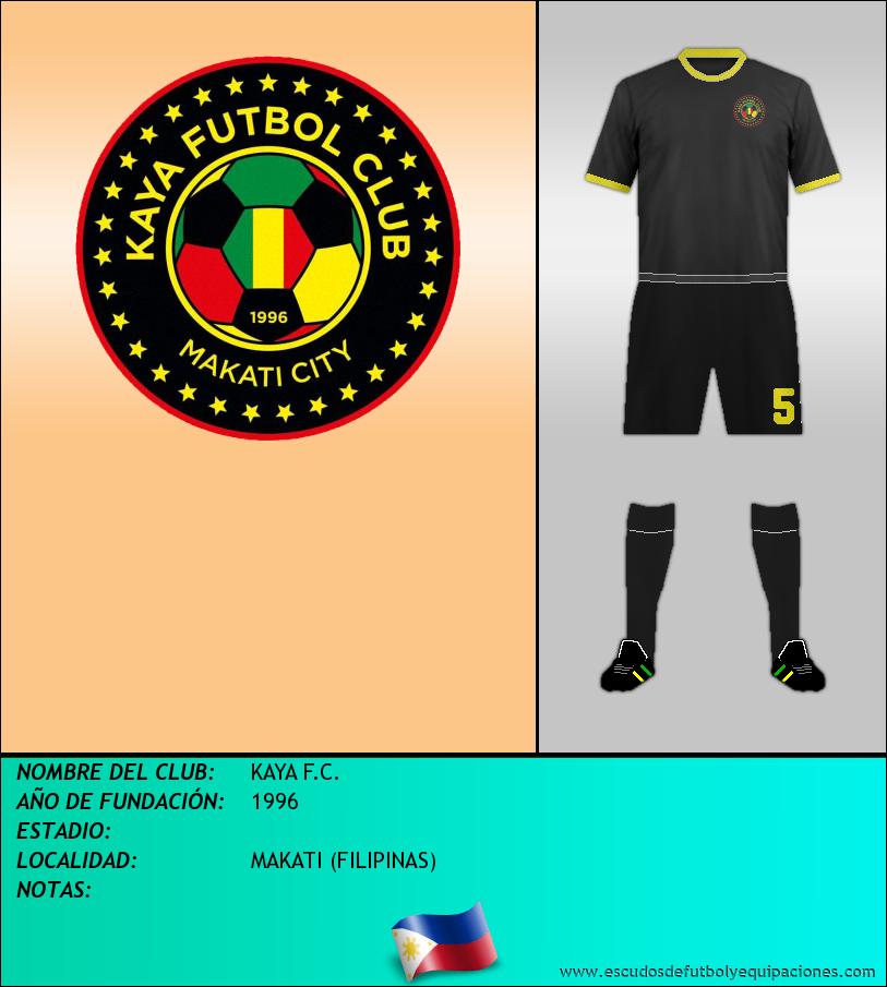 Escudo de KAYA F.C.