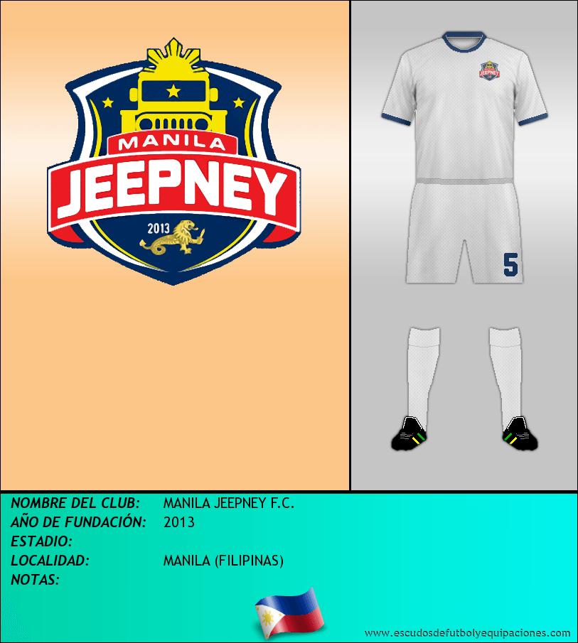 Escudo de MANILA JEEPNEY F.C.