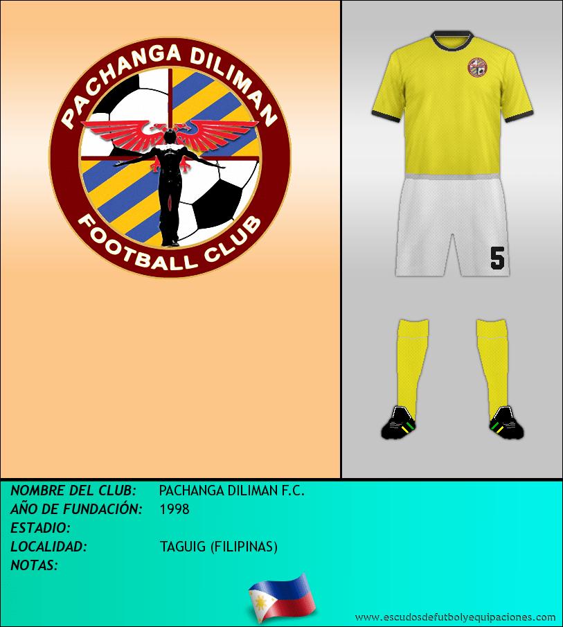 Escudo de PACHANGA DILIMAN F.C.