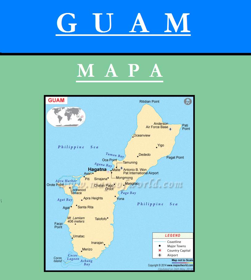 Escudo de MAPA DE GUAM