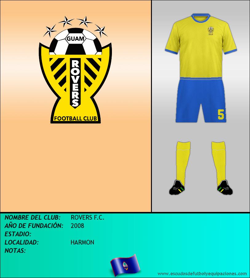 Escudo de ROVERS F.C.