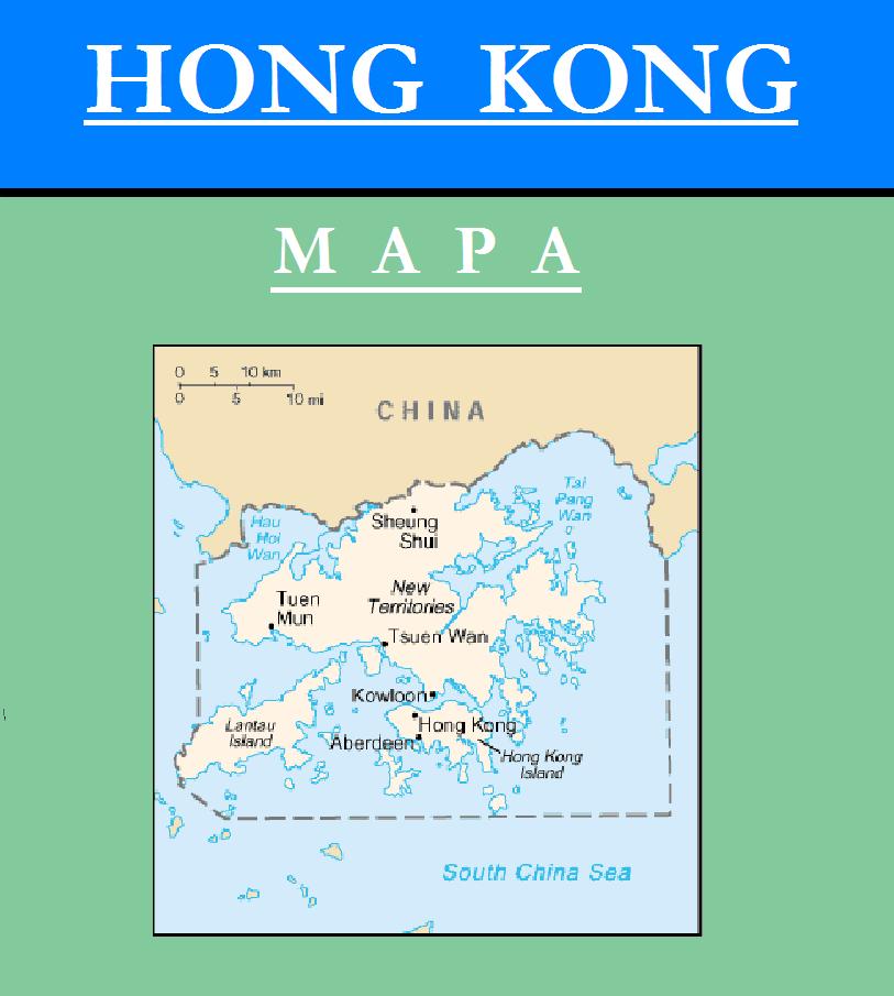 Escudo de MAPA DE HONG KONG
