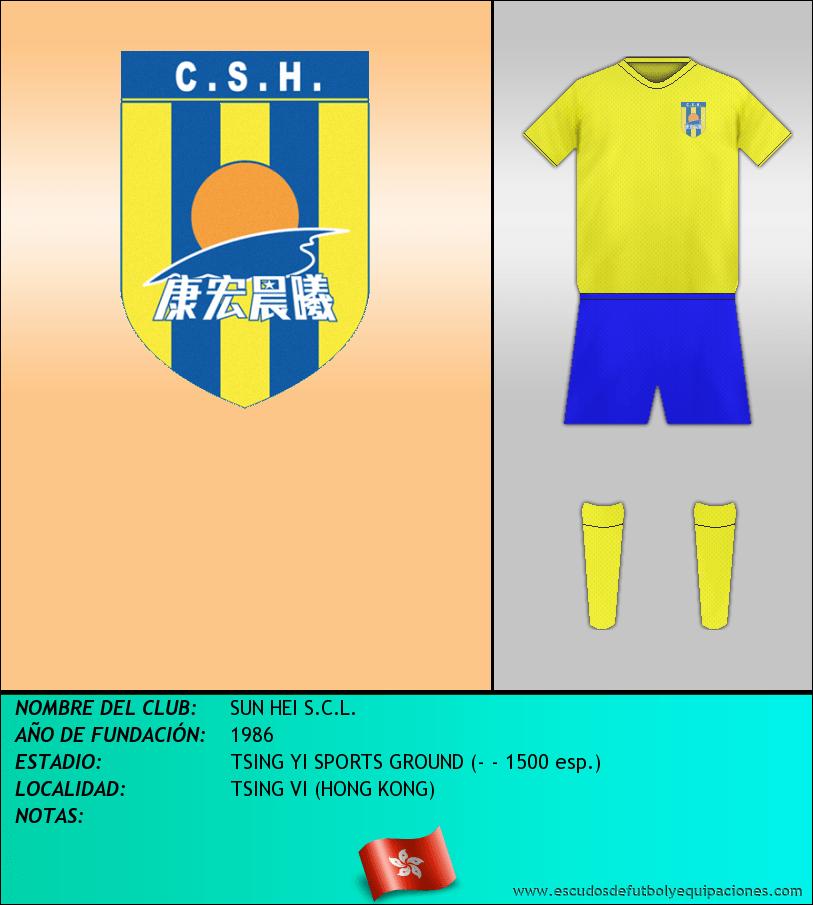 Escudo de SUN HEI S.C.L.