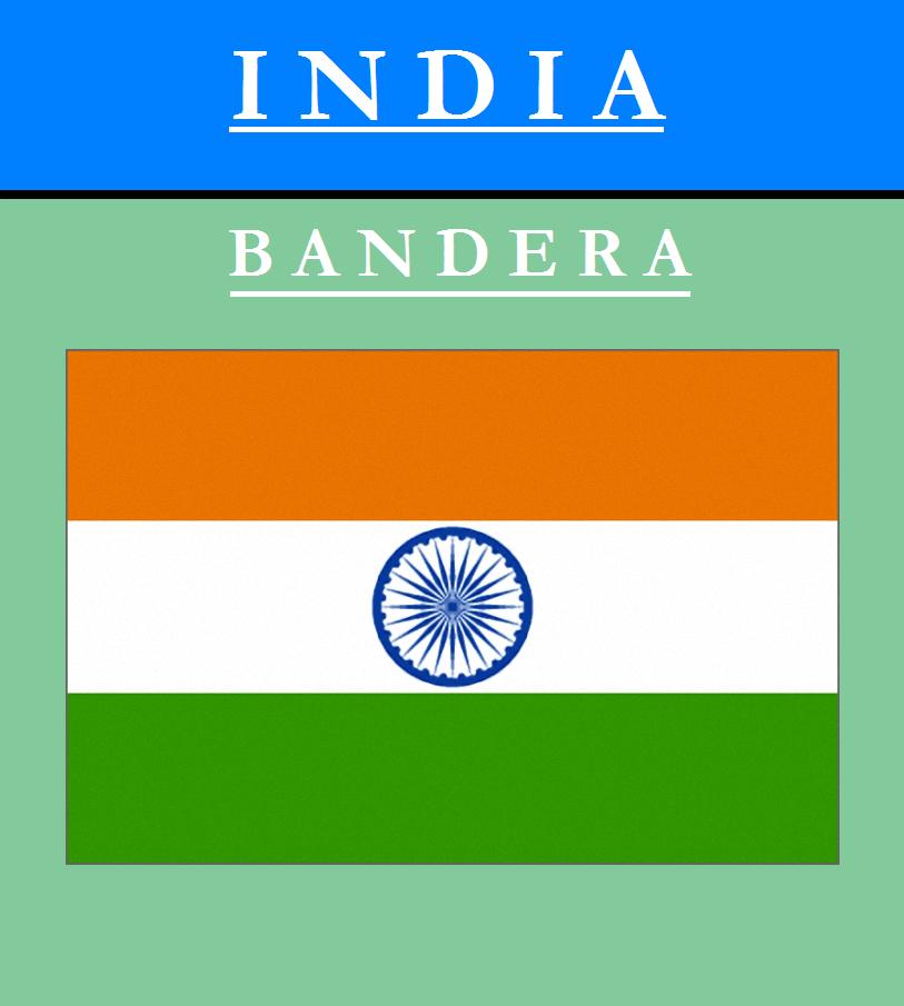 Escudo de BANDERA DE INDIA