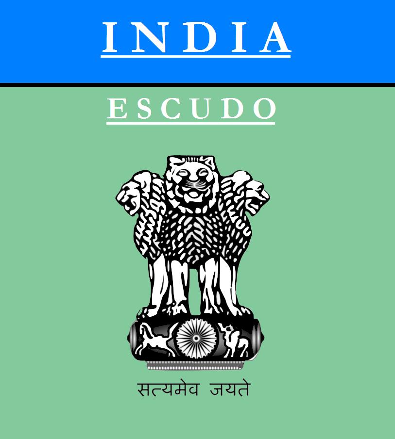 Escudo de ESCUDO DE INDIA