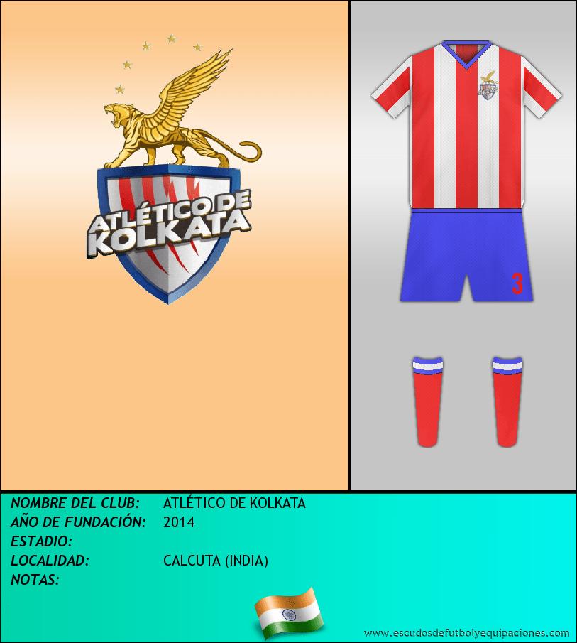 Escudo de ATLÉTICO DE KOLKATA
