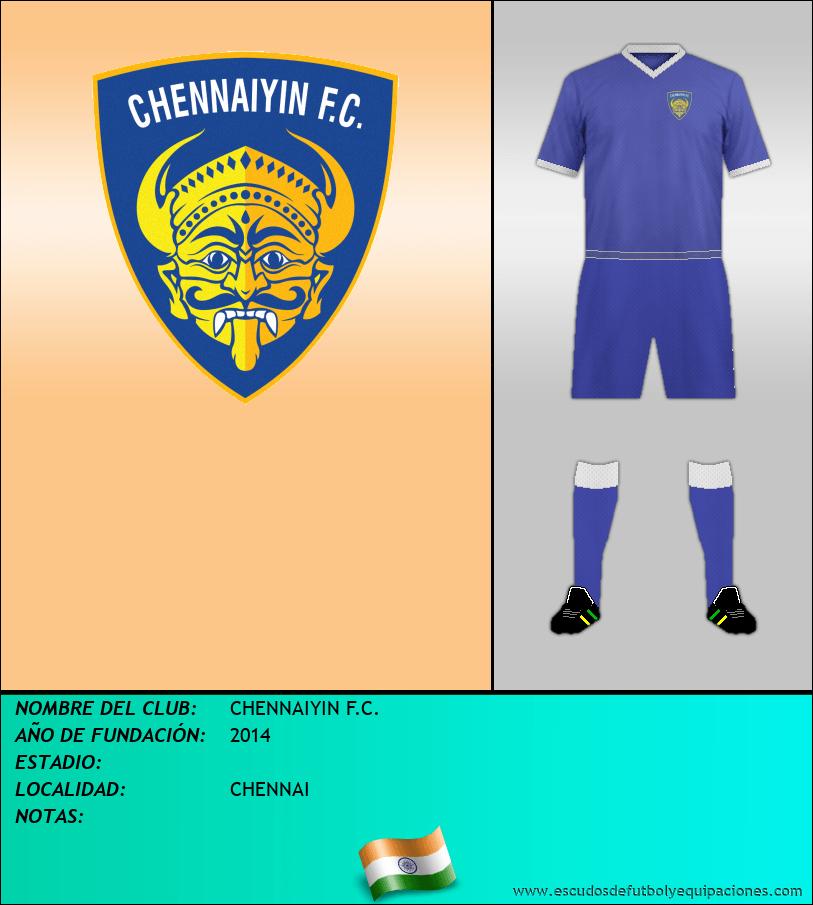 Escudo de CHENNAIYIN F.C.