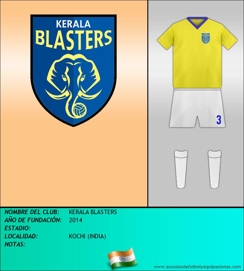 Escudo de KERALA BLASTERS