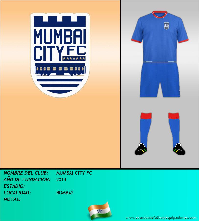 Escudo de MUMBAI CITY FC