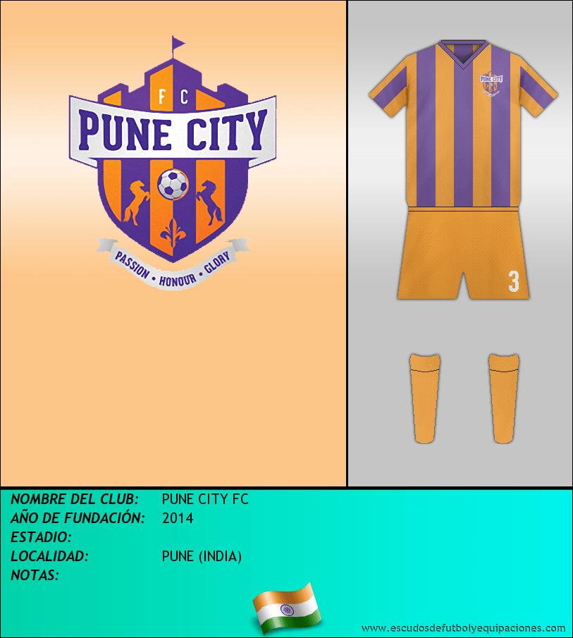 Escudo de PUNE CITY FC