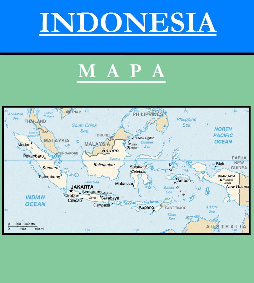 Escudo de MAPA DE INDONESIA