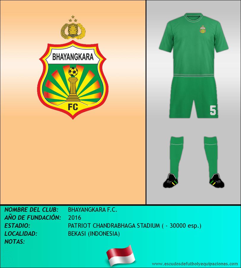 Escudo de BHAYANGKARA F.C.