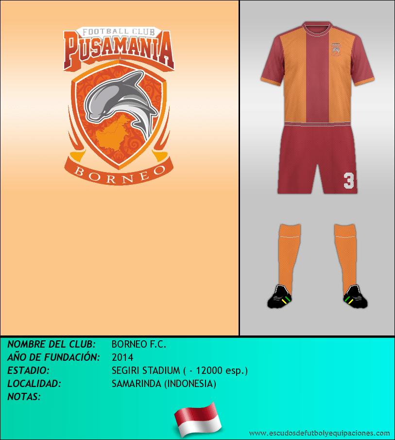 Escudo de BORNEO F.C.