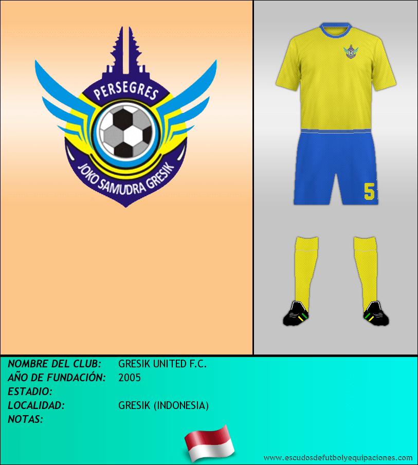 Escudo de GRESIK UNITED F.C.