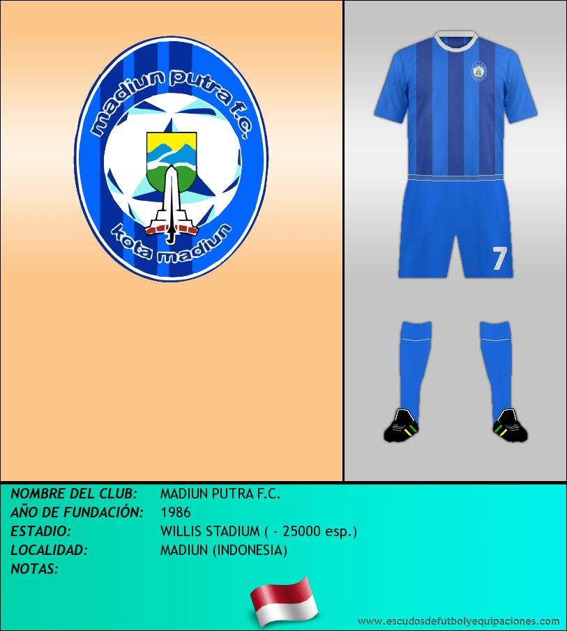 Escudo de MADIUN PUTRA F.C.