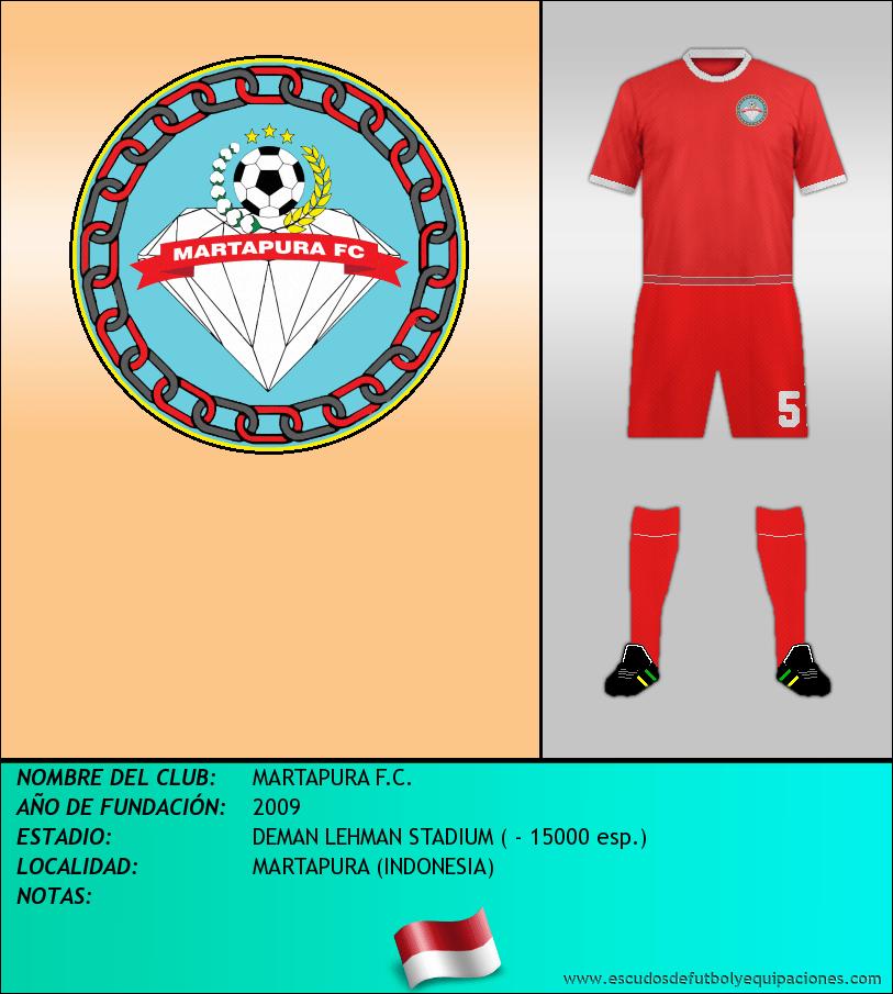 Escudo de MARTAPURA F.C.
