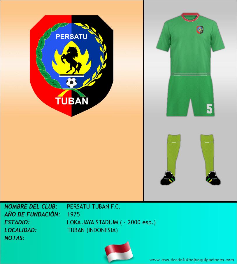 Escudo de PERSATU TUBAN F.C.