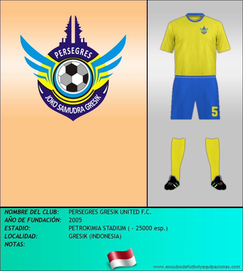 Escudo de PERSEGRES GRESIK UNITED F.C.
