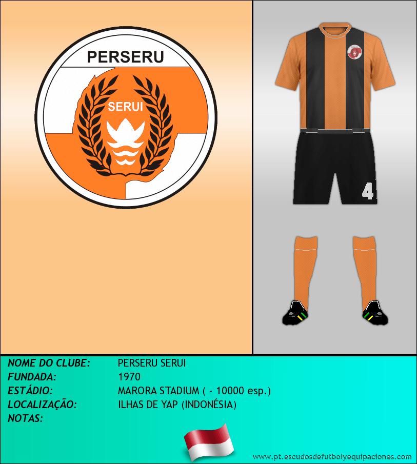Escudo de PERSERU SERUI
