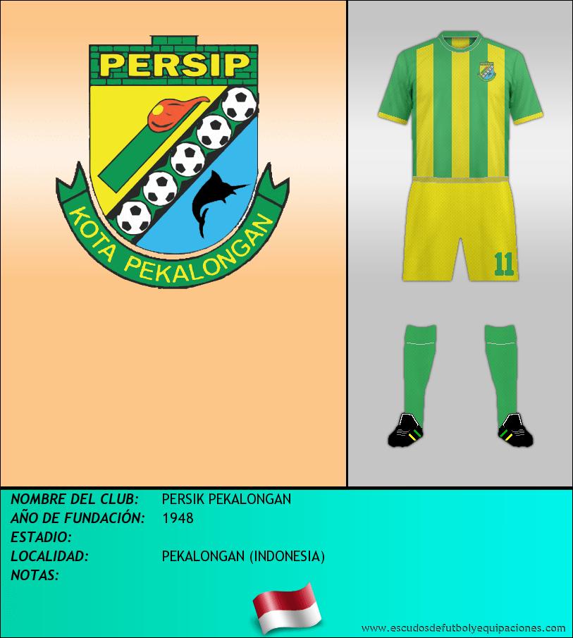 Escudo de PERSIK PEKALONGAN