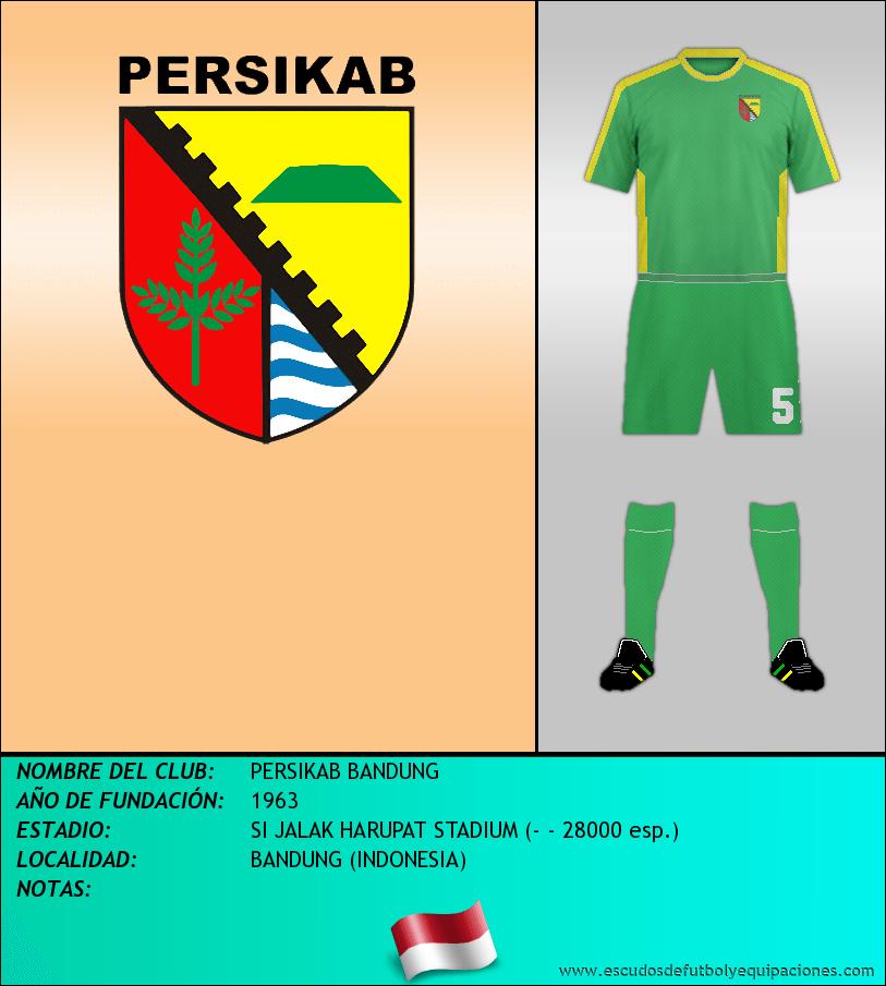 Escudo de PERSIKAB BANDUNG