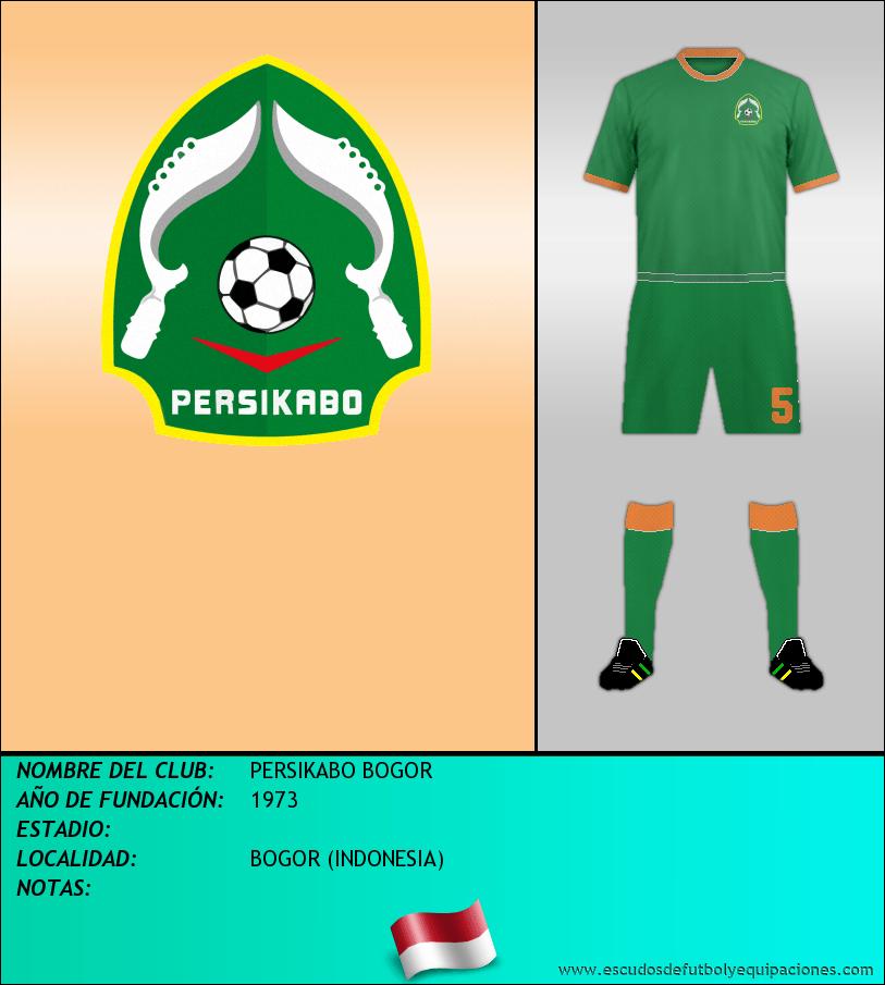 Escudo de PERSIKABO BOGOR