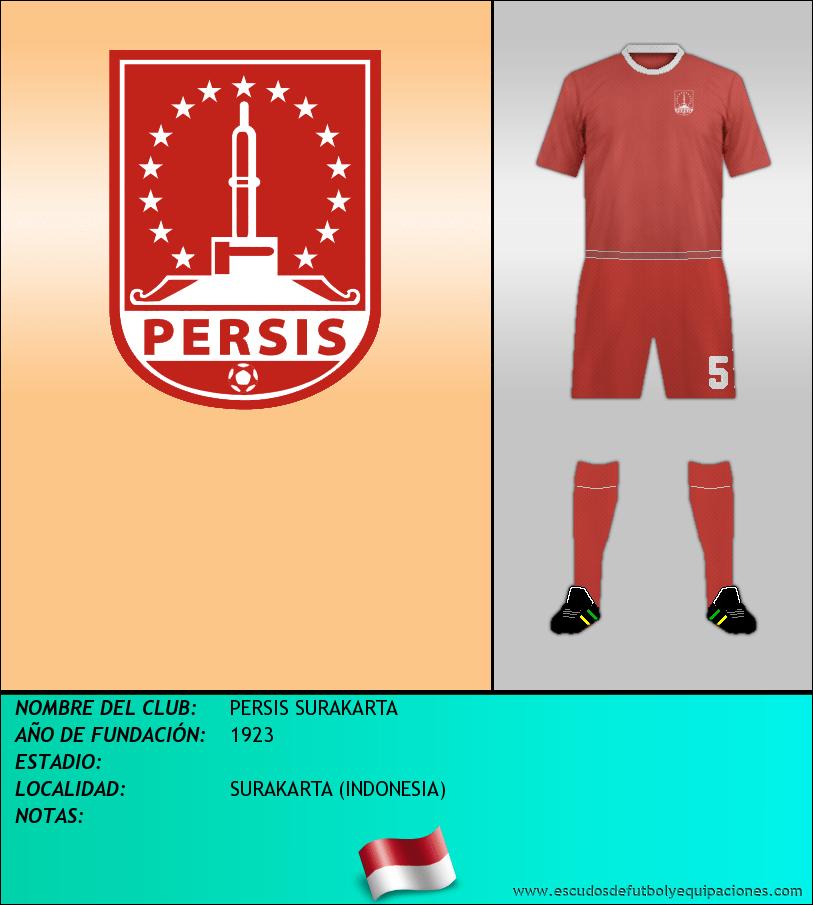 Escudo de PERSIS SURAKARTA