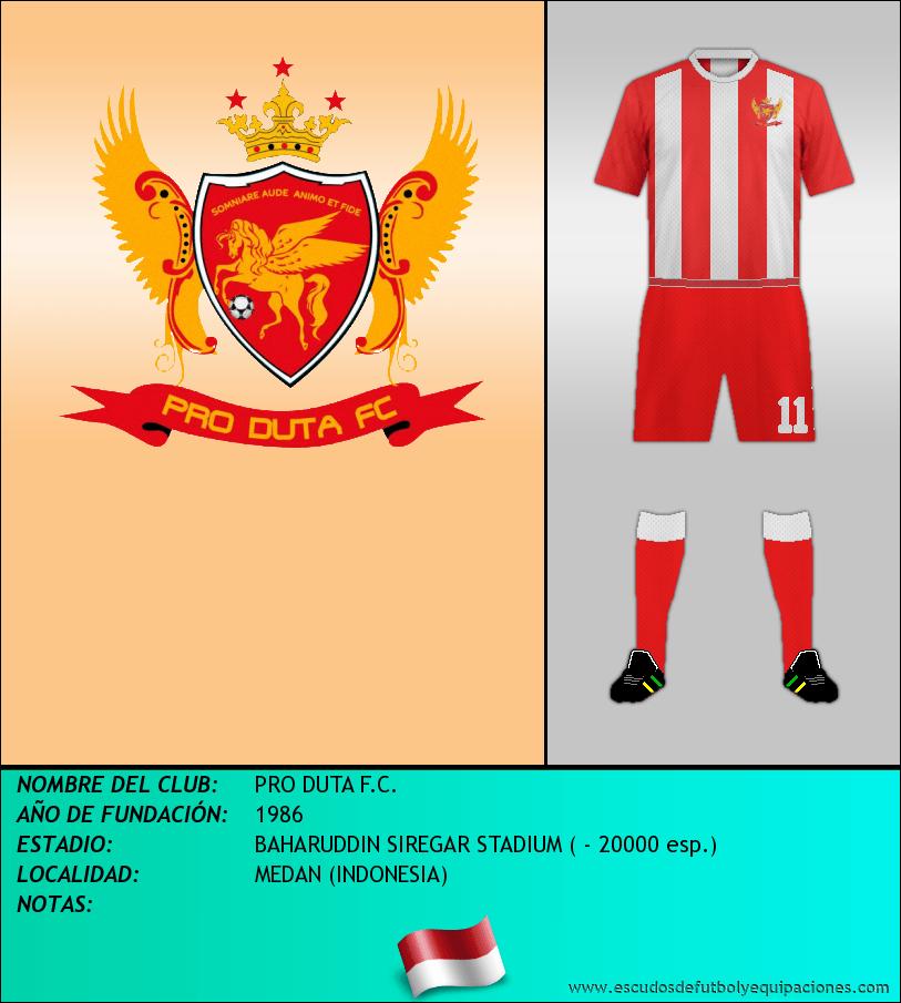 Escudo de PRO DUTA F.C.