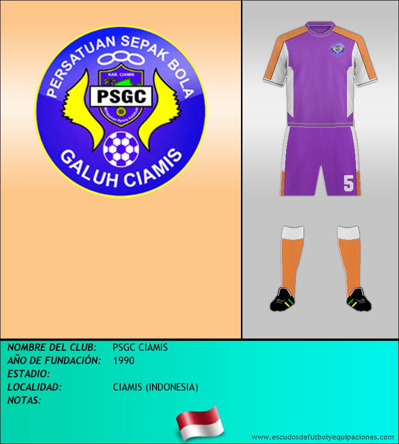 Escudo de PSGC CIAMIS