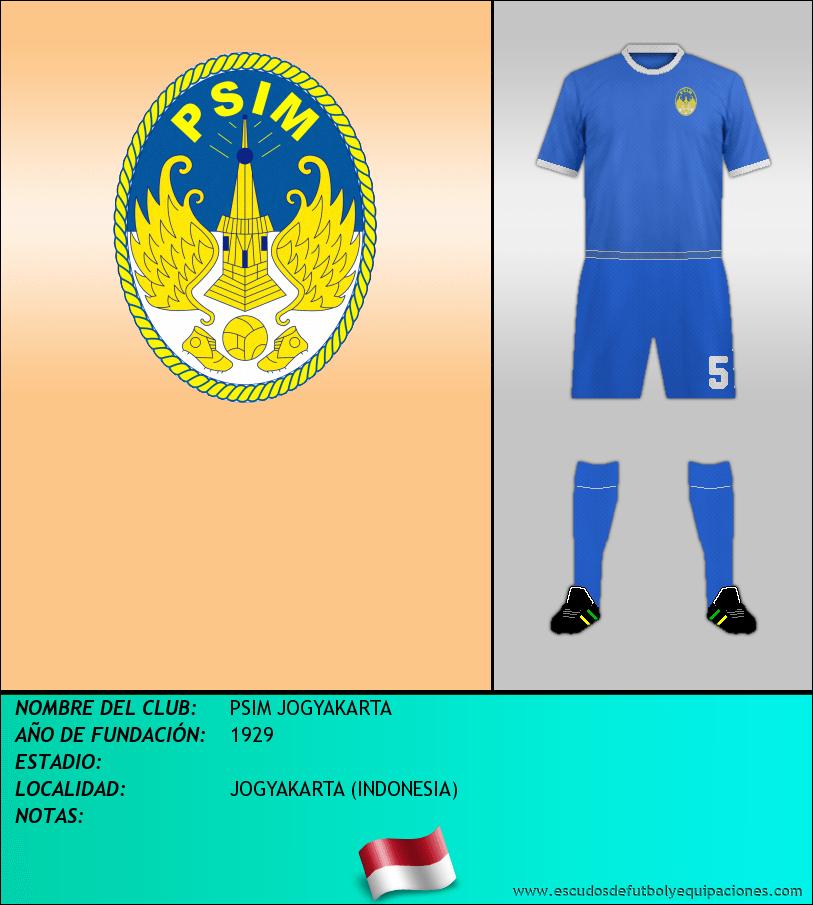 Escudo de PSIM JOGYAKARTA