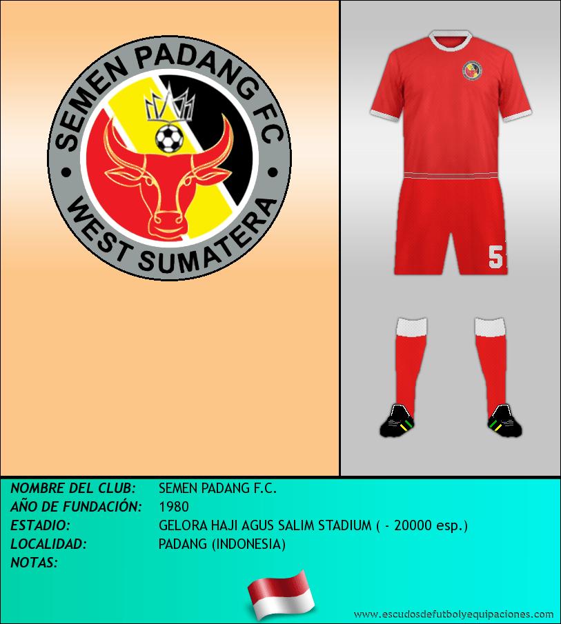 Escudo de SEMEN PADANG F.C.