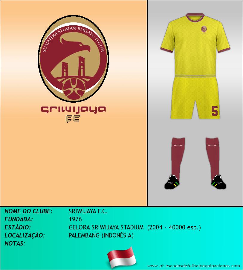 Escudo de SRIWIJAYA F.C.