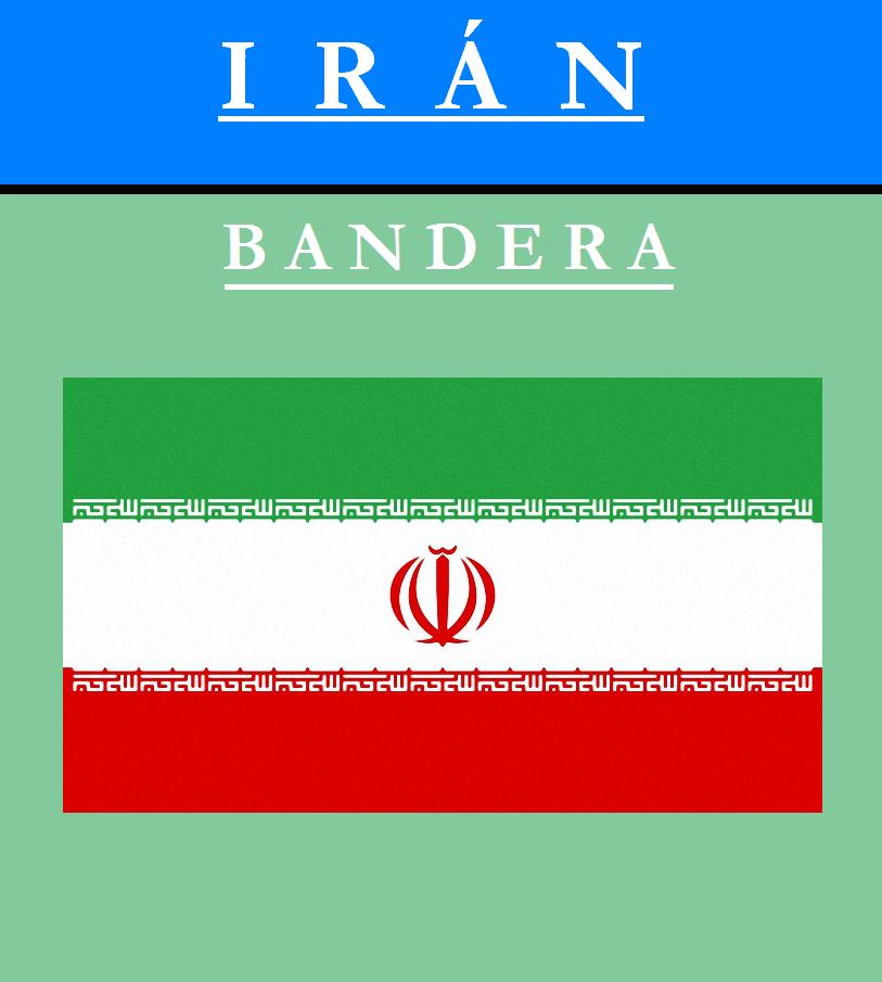 Escudo de BANDERA DE IRÁN