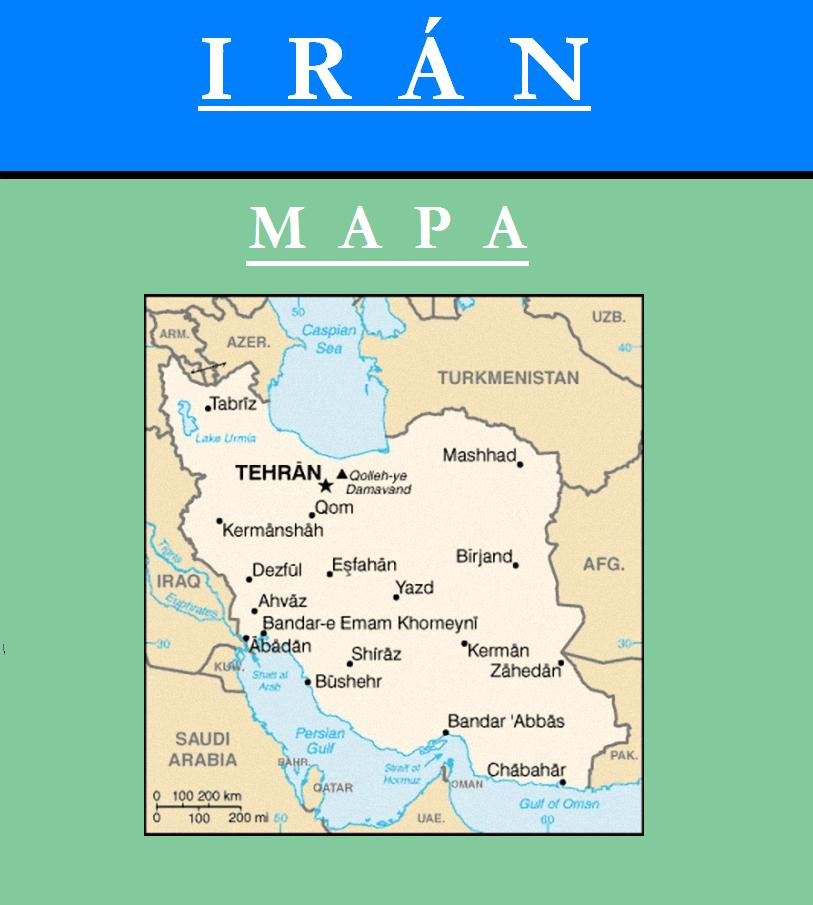 Escudo de MAPA DE IRÁN