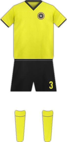 Equipación SEPAHAN F.C.